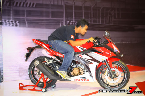 Gallery Launching All New Honda CBR150R 2016 di Sentul 20 Pertamax7.com