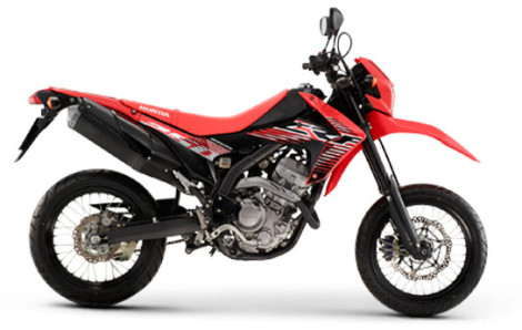 Honda CRF250M Supermoto red pertamax7.com