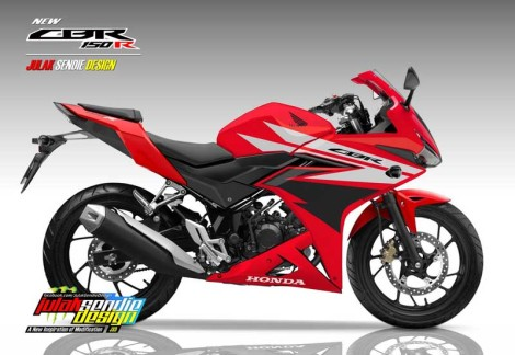 Honda New-CBR150R-2016-Champion-Red Pertamax7.com