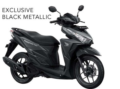 Honda Vario 150 exclusive black metallic pertamax7.com