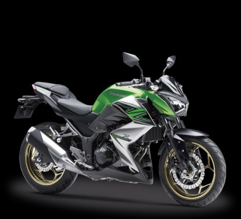 Kawasaki Z250 ABS Candy Flat Blazed Green  Metallic Graphite Gray  Special Edition pertamax7.com