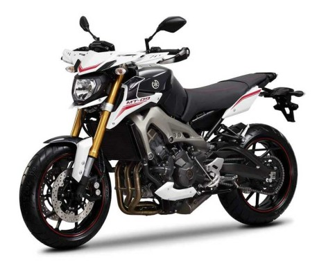 Yamaha MT 09 Street Rally