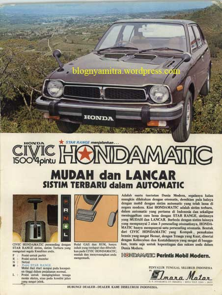 honda civic matic
