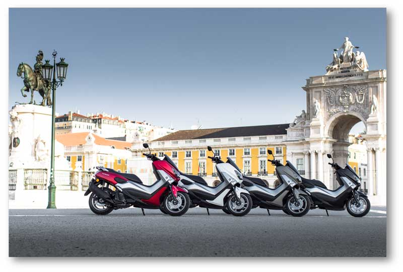 yamaha Nmax 125 Europe Colour