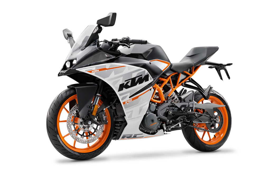 KTM RC390 2016 Left View pertamax7.com