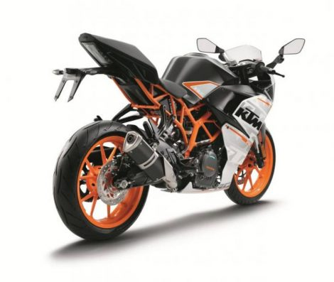 KTM RC390 2016 Rear View pertamax7.com
