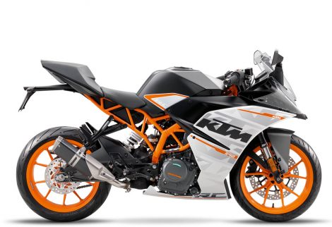 KTM RC390 2016 Right View pertamax7.com