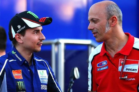 Lorenzo and Ducati