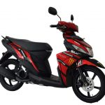 Modifikasi Yamaha Mio M3 Tech3 merah Custom Cargloss painting Shop Pertamax7.com