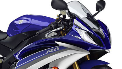 Yamaha R6 Headlamp