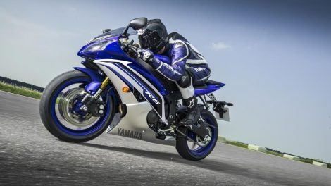 test Yamaha R6 Race Blue 2016