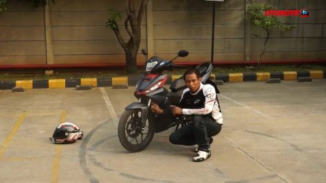 First Ride all new Honda Supra GTR 150 oleh Otomotif TV pertamax7.com