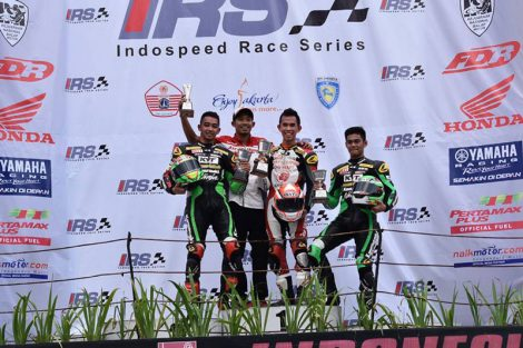 Gerry Salim Podium 1 IRS Supersport 600cc pertamax7.com