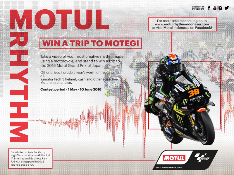 Motul Rhythm Competition