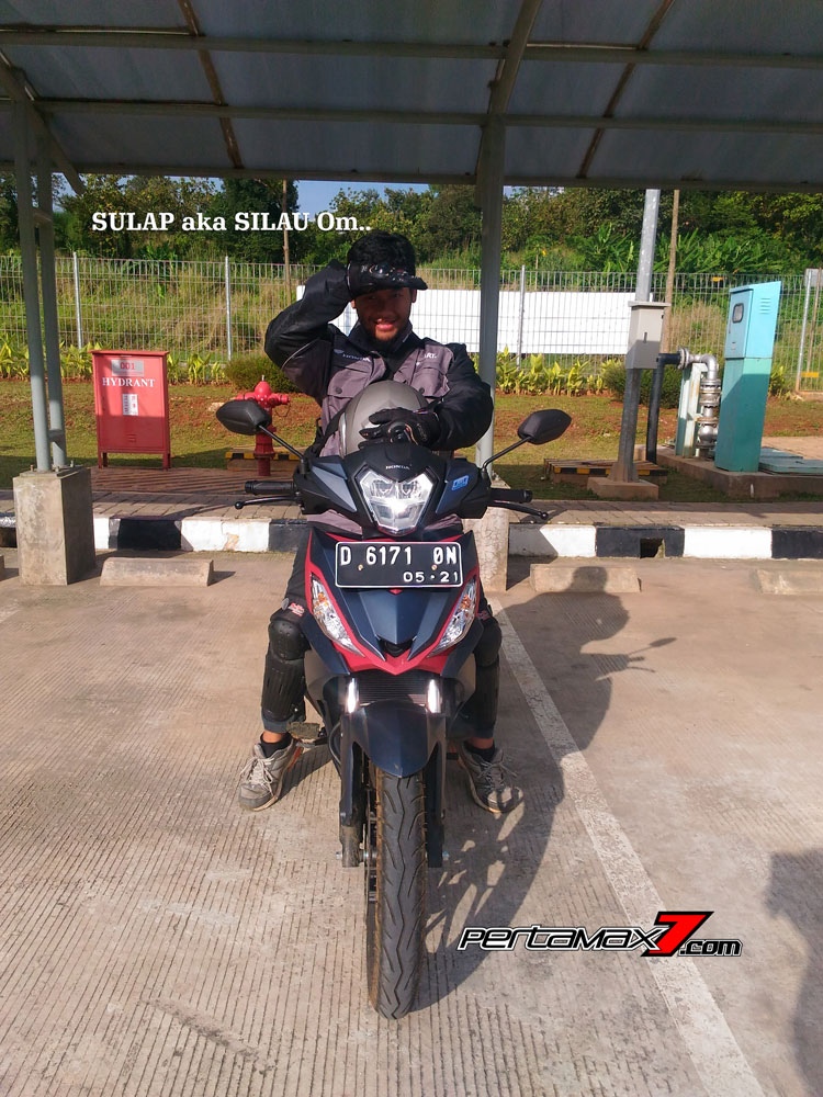 Pertamax7.com naik all new honda Supa GTR 150