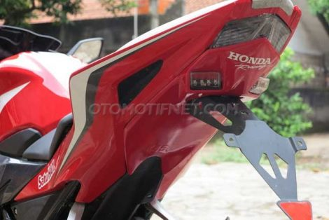 Under Tail All New Honda CBR150R 2016 by Chips Motor Pertamax7.com
