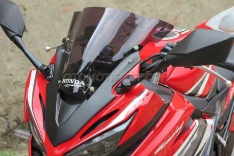 Visor Tinggi All New Honda CBR150R 2016 WIndshield by Chips Motor Pertamax7.com