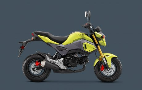 2017 Honda Grom 125 Bright Yellow pertamax7.com 1