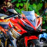 Foto All New Honda CBR150R 2016 Warna Merah Racing Red