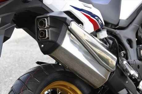 Honda Africa Twin Exhaust CRF1000L muffler bike tn dua lubang