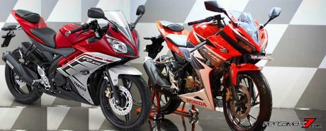 Komparasi Yamaha R15 VS All new Honda CBR150R 2016 pertamax7.com