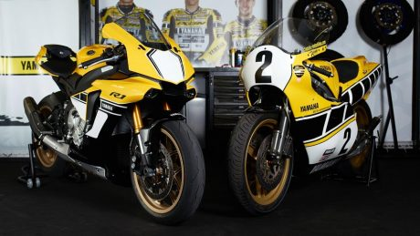 All New Yamaha R1 60th Anniversary Edition bersama senior Pertamax7.com