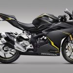 All new honda CBR250RR twin cylinder 2016 warna Anchor Grey Metallic pertamax7.com
