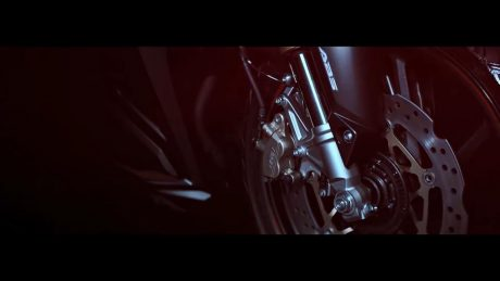 Cakram Depan Upside down ABS All New Honda CBR250RR Twin Cylinder Teaser By Welovehonda 6 Pertamax7.com