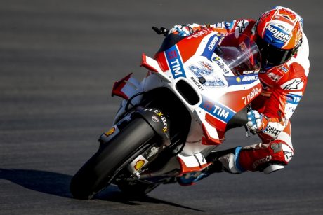 Casey Stoner Ducati GP16 Winglets MotoGP Private Test Austria pic Crash pertamax7.com