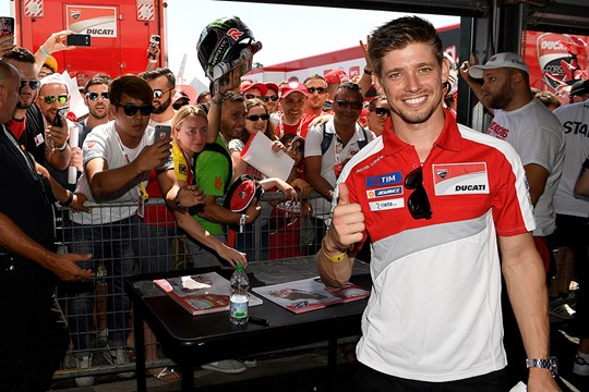 Casey Stoner World Ducati Week 2016 Pertamax7.com
