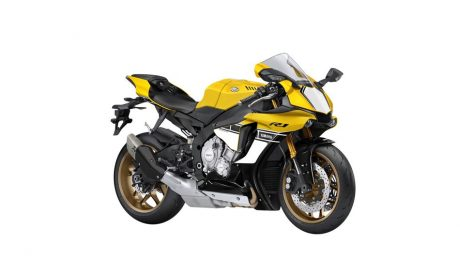 Foto Studio All New Yamaha YZF-R1 60th Anniversary Edition Kuning Pertamax7.com