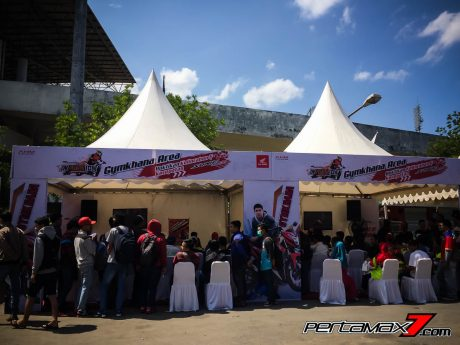 suasana Briefing national gymkhana competition Honda Sonic Infastion Regional Solo