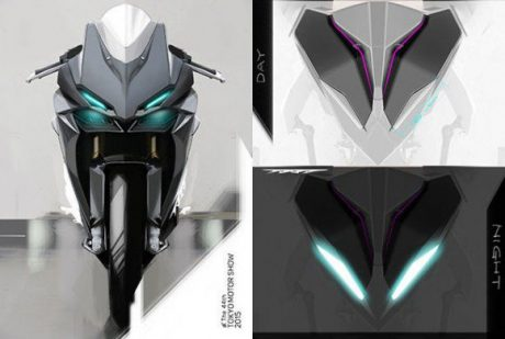 Honda lightweight supersports concept sketch