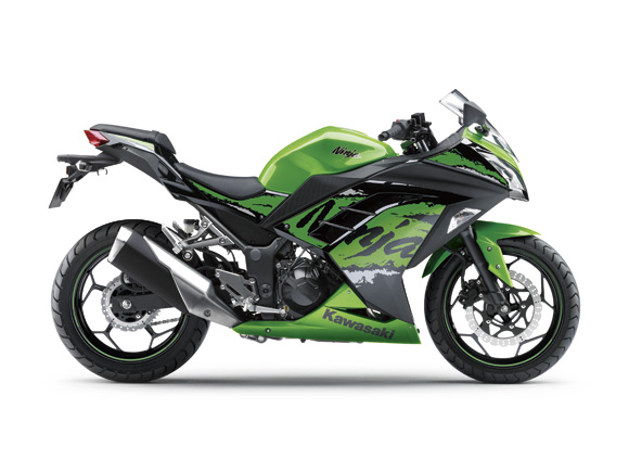 Kawasaki Ninja 250 FI Striping 2017 Candy Lime Green Metallic Spark Black (Special Edition) 17_EX250L_GN2_RS Pertamax7.com