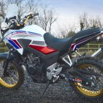Modifikasi All New Honda CB500X 2016 Adventure Velg Jari Livery Tricolour Heritage ala Africa Twin Rally Raid pertamax7.com