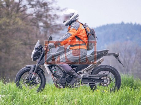 Spied New KTM Duke 890 Twin Inline 1Pertamax7.com