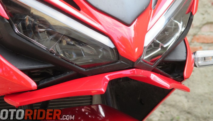 Winglet Ala Kawasaki H2 All New Honda CBR150R 2016