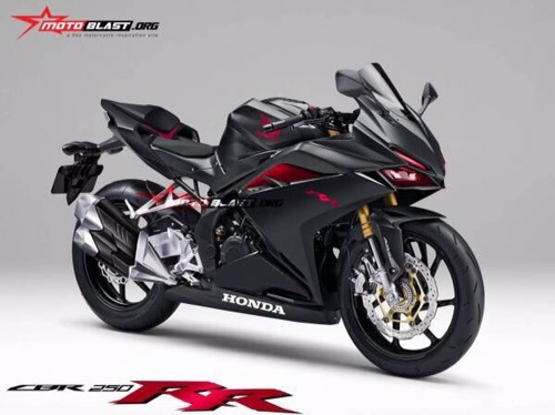 rendering honda cbr250rr twin cylinder
