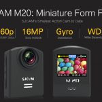 minature form factor SJCAM M20 ActionCam pertamax7.com