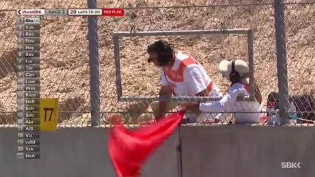 red Flag WSBK USA 2016 pertamax.com