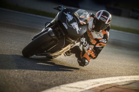 2017 KTM RC16 MotoGP official test