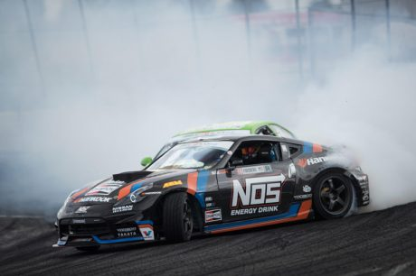 Hankook Tire's Chris Forsberg Top at Formula Drift Round 6 pertamax7.com