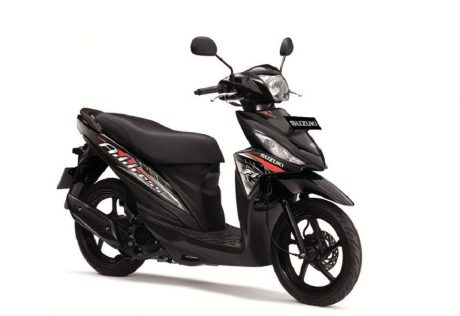 Suzuki Address Striping baru 2016 warna Hitam titan black pertamax7.com