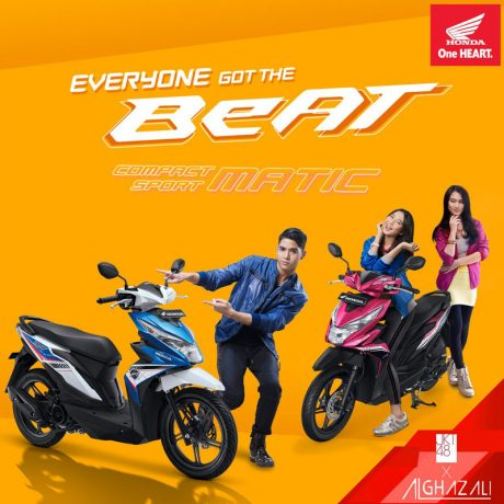 Wallpaper All New Honda BeAT eSP JKT48 Feat Al Ghazali 2016 pertamax7.com