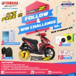 Yamaha Mio Z Follow and Win Challenge peramax7.com
