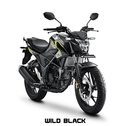 All New Honda CB150R Streetfire Wild Black Pertamax7.com