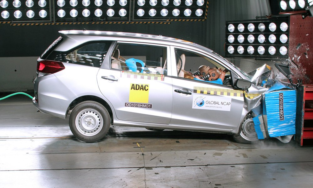 Airbags Crash Test Global NCAP India Pertamax7.com