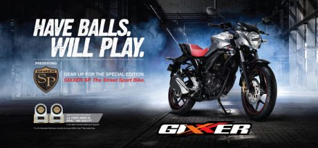 Suzuki GIXXER SP 155, Have Balls Will Play