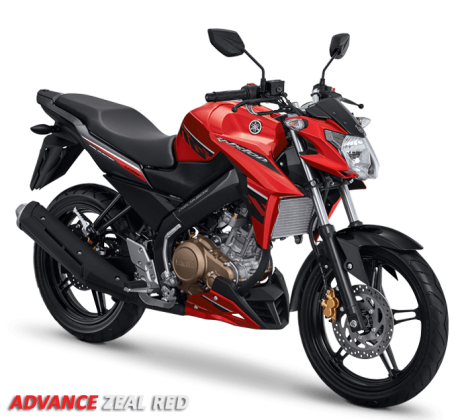 Yamaha New Vixion Advance  2016 merah zeal red pertamax7.com