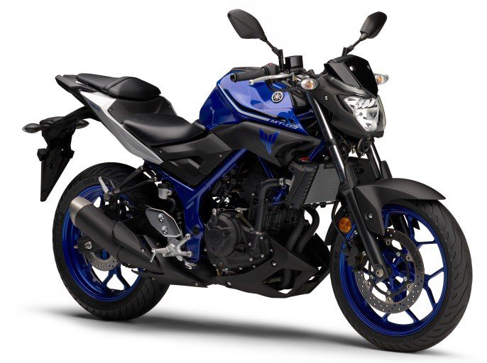 Yamaha MT-25 Facelift 2017 warna Deep Purplish Blue Metallic C (Blue) Pertamax7.com